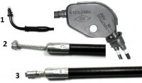 "THROTTLE CABLE 2 Stroke (1) Out=39""/Inner Wire=40.75"" (2) Out=26.50 / Inner Wire=27.50"" (3) Out=31.25"" / Inner Wire=32.50"" Fits Some QJ50 Vento Keeway CPI + more"