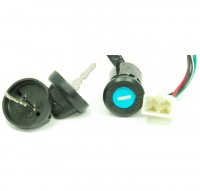 Ignition Switch Fits Eton Yukon CXL-150, Baja, + Many Other ATVs 4 Pin Female Jack OD=25mm