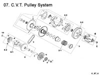 CVT Driven Pulley