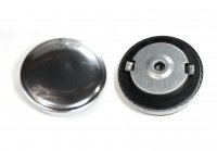 Gas Cap 57mm Chrome OD=84mm