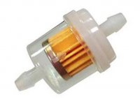 "INLINE FUEL FILTER Nipple OD=3/16"" (6mm)"