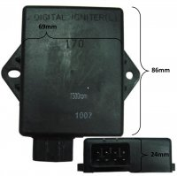 CDI Box 4 Stroke 300cc ATV 8 Pins in 8 Pin Jack 69x86x24