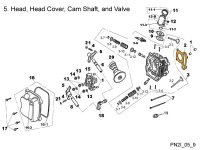 Cyl Head, Cover, Cam Shaft