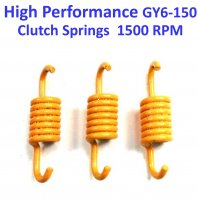 Clutch Spring Set HIGH PERFORMANCE Yellow +1500 RPM GY6-125, GY6-150 Chinese ATVs, GoKarts, Scooters