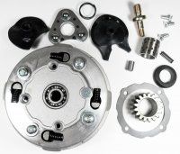 Rear Clutch 50-125cc Honda Copy Semi Auto ATVs, Dirtbikes Clutch OD=116 Shaft=17mm 17th Gear