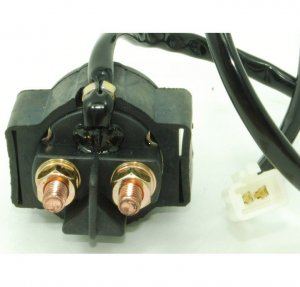 starter solenoid relay fits 49 250cc scooters atvs. Black Bedroom Furniture Sets. Home Design Ideas