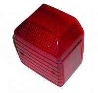 TAIL LIGHT LENS Fits most European Mopeds With CEV Tail Light 84 x 100 x 58