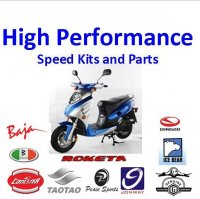 High Performance-Scooter Parts 4 Stroke GY6 49cc-80cc