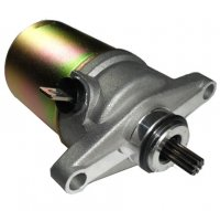 Electric Starter Motor 50cc 4 Stroke Fits GY6-50 QMB139 49cc Chinese Scooters 10 Spline,24mm Flange,Bolts c/c=69mm