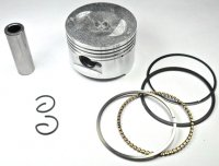 100cc (High Performance 50mm) Piston Kit. Fits GY6-50 Chinese Scooter Motors. PIN=13mm H=31 Ctr Pin To Top=17