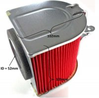 Air Filter 4 Stroke 250cc + others ID=52mm L=105 H=102