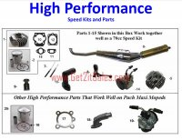 High Performance Puch Moped Parts