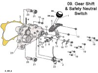 Gear Shift and Safety Neutral Switch