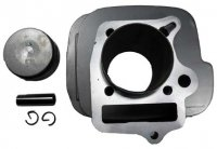 CYLINDER PISTON KIT 125cc 4 Stroke B=52mm, H=78mm Fits Most Chinese 125 ATVs-Dirtbikes