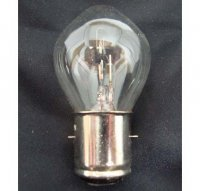 12V 25/25W Headlight Bulb 2 Terminal 20mm Base