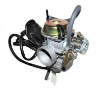 Runtong CVK PD24J Carburetor Intake OD=32mm Air Box OD=42mm Fits Most GY6 125, 150, 180cc ATV, GoKarts, Motorcycles, Scooters
