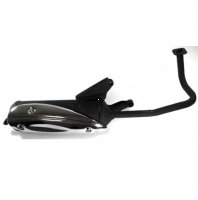 GY6-50 QMB139 49cc Chinese Scooter Motors Exhaust Pipe
