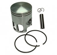 PISTON KIT 49cc 2-stroke Fits E-Ton Impuls TXL50, Lightning AXL50, Viper RXL50cc ATVs + 9cc Beamer, Matrix 50 Scooters Polaris, Alpha Sports, Dinli, Jog, Vento + More B=40 Pin=10 H=49 Ctr Pin To Top = 26mm