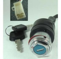 Ignition Switch Fits Many Chinese ATVs 4 Pins in 4 Pin Jack