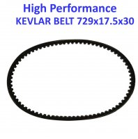 "Belt 729x17.5x30 Kevlar Fits Many Chinese GY6 49-150cc ATVs, GoKarts, and 4 stroke Scooters With 12 & 13"" Wheels"