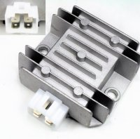 Voltage Regulator Rectifier 110-125cc Chinese ATV, SCOOTERs 4 Pins in 4 Pin Jack 66x72 Bolts Ctr to Ctr 55mm