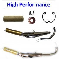 Moped (Tomos, Puch, Etc.) Exhaust Pipes & Parts