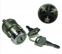 Ignition Switch Momentary Action (Springs Back) Fits Many Chinese GoKarts 3 Wire Terminals