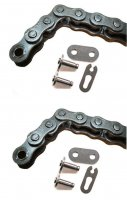 Coleman KT196 Final Drive Chain & Jackshaft Chain With Master Links