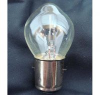 12V 35/35W Headlight Bulb 2 Terminal 20mm Base for Many Scooters and Mopeds
