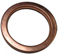 EXHAUST GASKET ROUND OD=39mm Fits Many 200-400cc ATVs, GoKarts, Scooters, UTVs