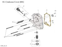 Right Crankcase Cover RH