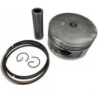 PISTON KIT 250cc 4-Stroke 72mm CF250, CN250 + Others B=72 Pin=17 H=45.3 Ctr Pin To Top = 22.5