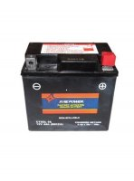 "CTX5L FA Fire Power Battery Sealed Maintenance Free L=4 1/4"" W=2 9/16"" H=4"""