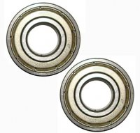 Ball Bearing 6001ZZ ID=12 OD=28 W=8 Sold Per Pc