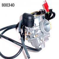 Carburetor With Electric Choke Fits E-Ton Yukon YXL150 ATV, Beamer R4-150, Matrix 150 Scooters + Others