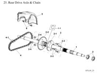 Rear Drive Axle Assembly