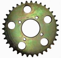 Rear Sprocket #530 35th ID=58 Bolts Ctr to Ctr=80mm