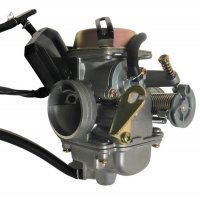 Keihin PD24J Carburetor TOP QUALITY-Best Value Intake OD=32mm Air Box OD=42mm Fits Most GY6 125, 150, 180cc ATV, GoKarts, Motorcycles, Scooters