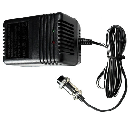 Battery Charger 12V 3 PRONG PLUG