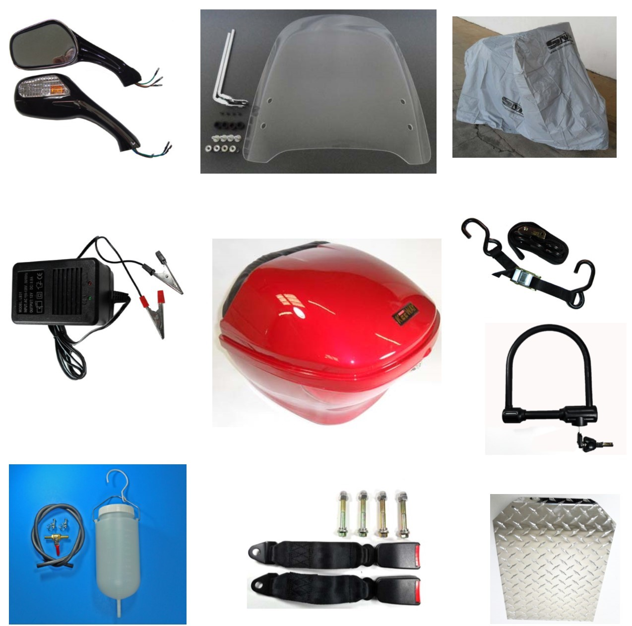 Accessories ATVs, Scooters, Mopeds