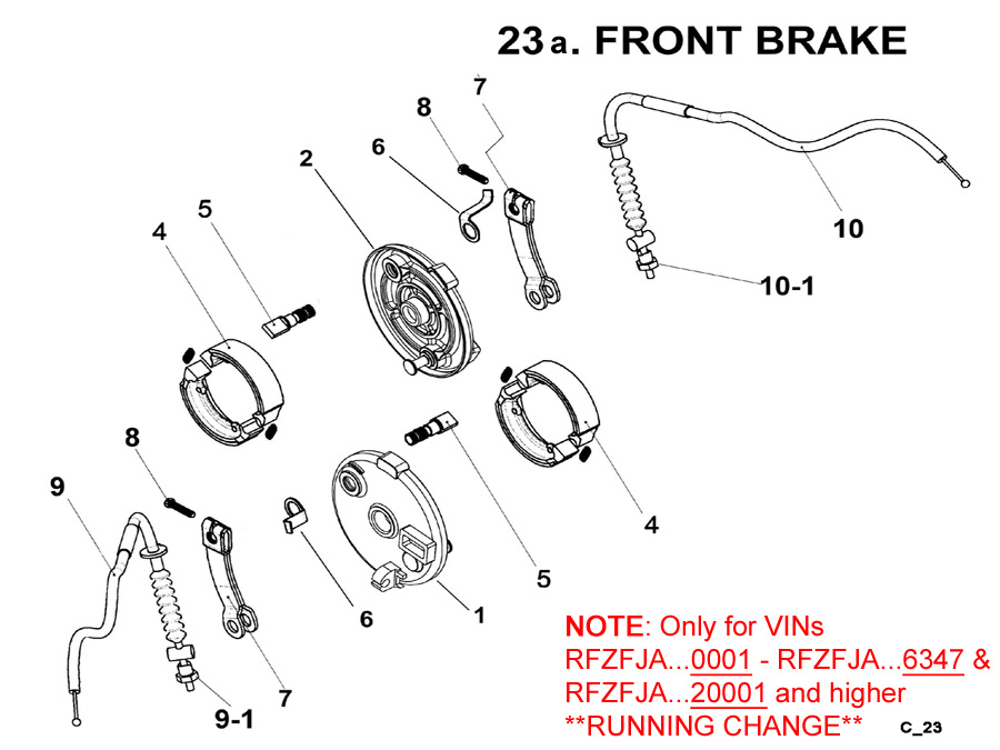 Front Brakes A