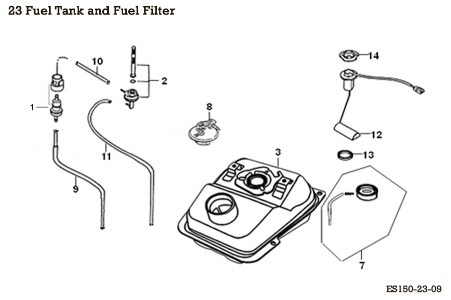 Fuel Tank and Fuel Filter