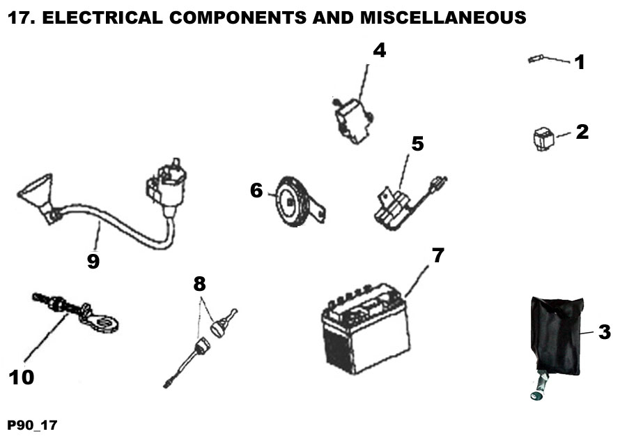 Electrical Components and Miscellaneous