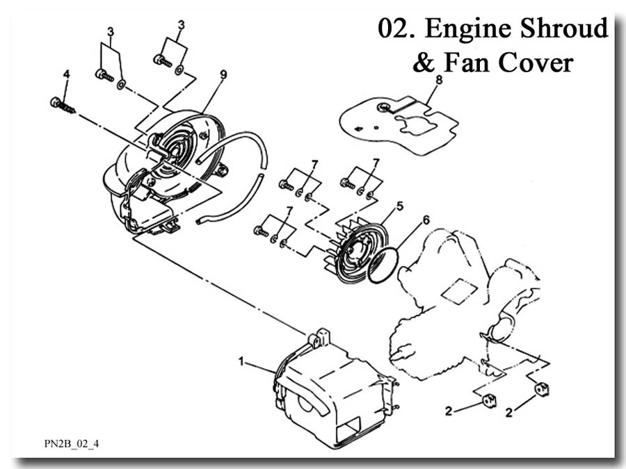 Engine Shroud and Fan Cover