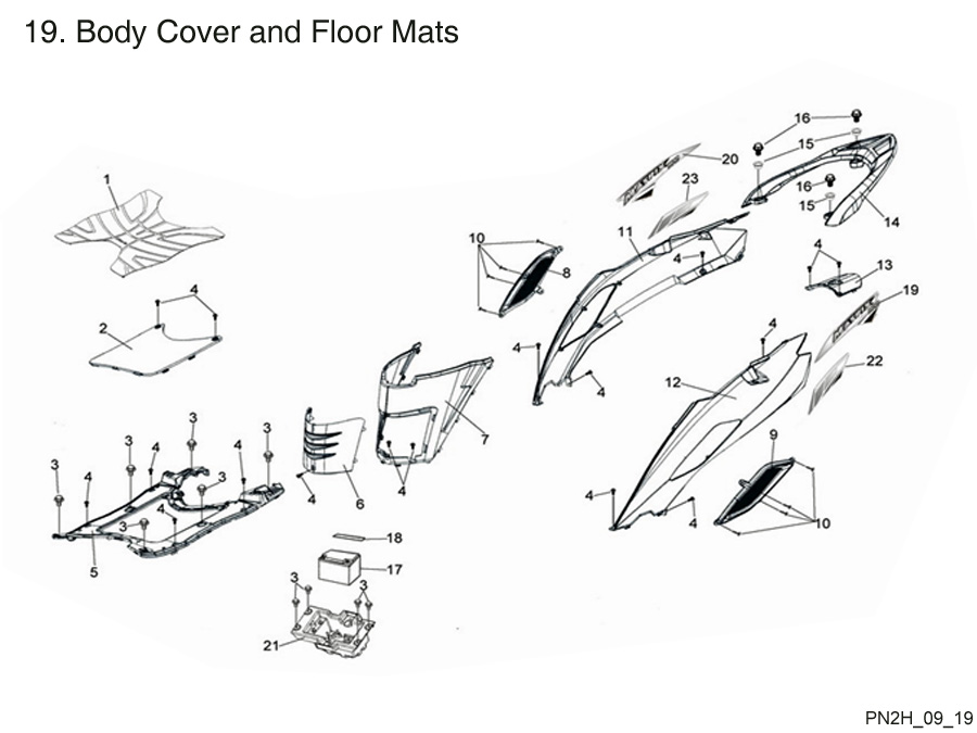 Body Cover and Floor Mat