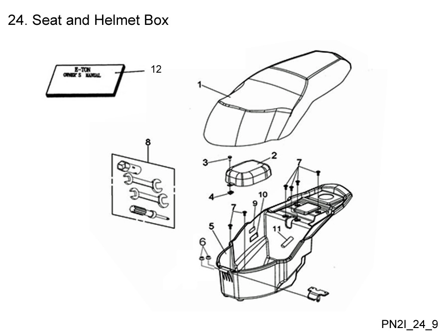 Seat and Helmet Box