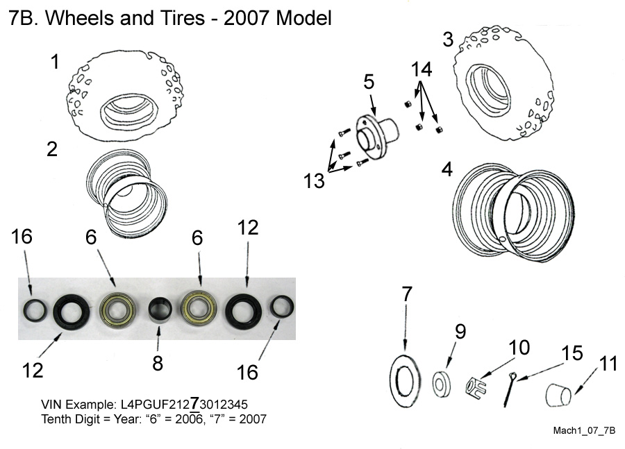 Wheels and Tires - 2007 Model